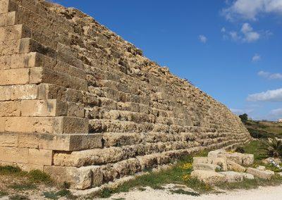 muro monumentale acropoli Selinunte