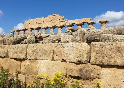 tempio acropoli selinunte