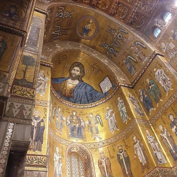 Duomo di Monreale Mosaici Abside