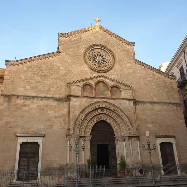 Facciata della Chiesa di San Francesco a Palermo