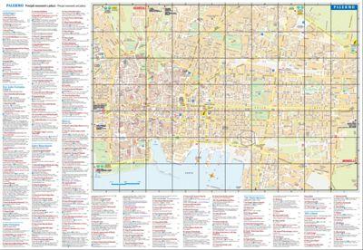 Mappa Turistica di Palermo Centro