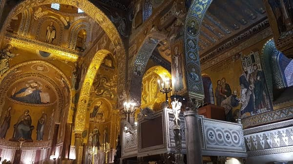 Mosaici della Cappella Palatina di Palermo