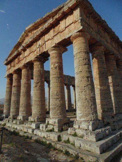 Segesta Doric Temple in Sicily