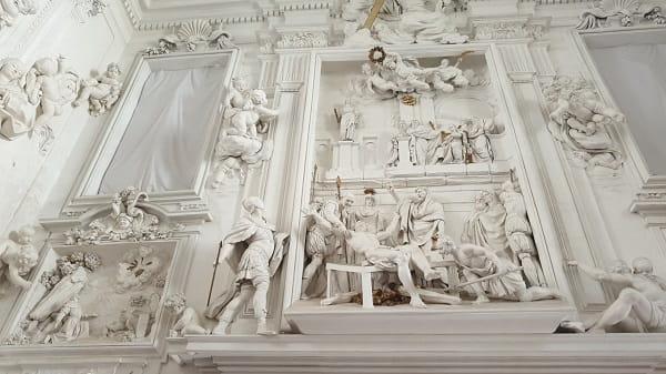 Stucchi di GiacomoSerpotta Presso Oratorio di San Lorenzo a Palermo